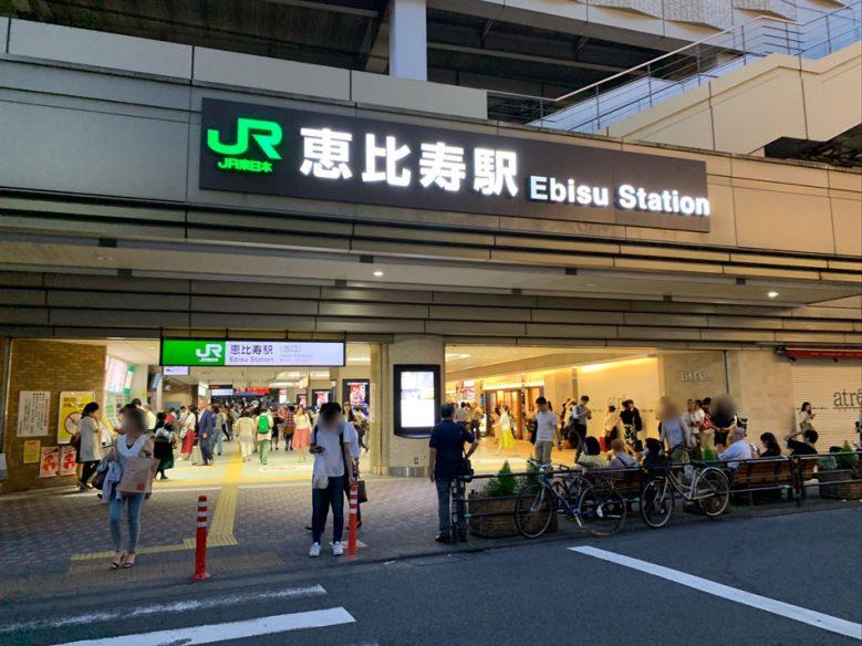 JR惠比壽站